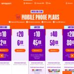 amaysim: $35 Cashback for $20 SIM-Only 80GB Plan @ ShopBack