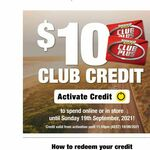 [Club Plus] $10 Store Credit (Activation via Email Link Required) @ Supercheap Auto