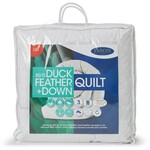 Jason Duck Feather & Down Quilt - White - Queen Bed $69.30 (Was $99) + Delivery ($0 C&C) @ Big W