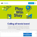 Win a Trip for Two to The Australian Open 2022 from Sports Travel and Hospitality Australia