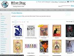 25% off Marked Prices for All Bluedog Art Posters