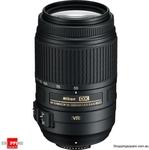 Nikon AF-S DX NIKKOR 55-300mm f/4.5-5.6G ED VR $199.95 + Shipping @ ShoppingSquare