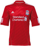 SALE! Authentic 10-12 LIVERPOOL Home Shirt $30 + $6.60 P&H. Great Xmas Gift Idea for Football