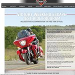 Victory Weekend Escape Test Ride Program - Includes Free Hire, Accommodation and a Tank of Fuel