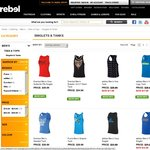 Rebel Sport Mens Tank Tops from $12.50 Adidas, Nike, Puma etc Free Shipping