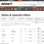 Jetstar Friday Fare Frenzy (4hr Sale)