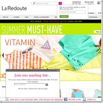 Redoute.com French Fashion Online: Welcome Offer 20% OFF & FREE DELIVERY with Code 1022