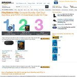 PS Vita Wi-Fi + Soul Sacrifice + FIFA 13 + 30 Day PlayStation Plus Membership for ~A$248