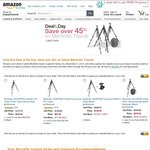 Amazon Gold Deal Manfrotto Tripods 190CXPRO4 $261 AUD Delivered