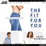 Jag Online $20 off Any Order with Code + 40% off Sale Items Code