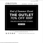 Oroton Outlet Summer Sale - 70% off