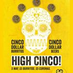 $5 Burritos, $5 Bowls AND *$5 Coronas! 5th May @ ALL Guzman y Gomez (GYG)