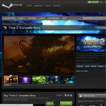 Trine 2: Complete Story, $1.99 USD, Steam 90% off. Trine 1+2 Complete Story $2.49 USD