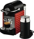 Nespresso BEC400XR Breville Pixie Capsule Machine $189 before $60 Cashback @ The Good Guys
