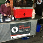 Free Coffee/Hot Chocolate at Caulfield Platform 1 Vic Metro