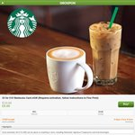 £5 for £10 Starbucks Card Egift @ Groupon UK