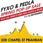 FYXO, Pedla, Castelli Pop up Store Sale (Inc $59 Castelli Jersey) @ Cell Bikes (Prahran VIC)