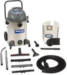 1800W Shop Vac Wet and Dry Vacuum Cleaner (60L Capacity) - $149 at Masters (Save $140)