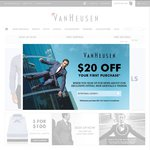 $50 off When You Spend $150 Sitewide @ VanHeusen.com.au