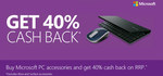 Microsoft Cashback on PC Accessories is on Again - 40% off RRP Prices