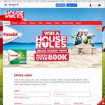 """Win a Holiday Home Worth over $800,000 (+Minor Prizes) - Watch """"House Rules"""" or Go to Woolworths"""
