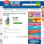 Listerine Zero Mouthwash 1L+250mL $7.99 @ Chemist Warehouse [In-Store Only]