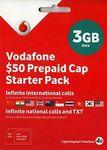 Vodafone $50 Pre-Paid Cap Starter $16.90 - Buy 4 Get 1 Free, Buy 7 Get 3 Free (POSTAGE INCLUDED) @ Jizmojones eBay