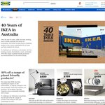 IKEA AUS's 40th Anniversary Sale - 25% off Malm/Hemnes Drawers; 40% off Selected Products (VIC, NSW, QLD)