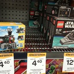 Woolworths Clearance: Lego City & Creator Small Packs $4.40, Lego Star Wars Microfighters $12.80