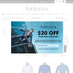 Van Heusen 4 Euro Shirts for $100 with Free Shipping