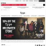 50% off Halloween @ Typo