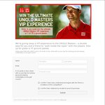 Win The Ultimate UNIQLO Masters VIP Experience in Melbourne (or 1 of 75 Ground Passes) from UNIQLO