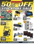 Supercheap Auto up to 50% off Stocktake Sale $18.99 Castro Magnatec 10w-30/40 NGK Sparks $4.20