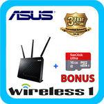 ASUS DSL-AC68U ADSL/VDSL ModemRouter + 16GB SanDisk microSD Memory Card $277.10 @ Wireless1