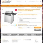 Electrolux 60cm 4 Burner Stainless Steel BBQ EQBM60AS $398 + $55 Shipping @ E&S Trading Vic