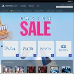 PlayStation Store (PSN) Easter Sale - Up to 60% off