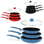 Stone Magic Cookware Set 3pc Sauce Pans $39 Delivered (72% off RRP) @ KG Electronic eBay