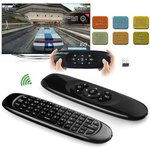 2.4GHz Wireless QWERTY Keyboard with TV Remote Control USD$8.99 (~AUD$11.69) @ Everbuying
