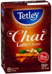 $10 for 3 Boxes Tetley Tea Chai Latte Classic 8 Sachets Each Box + Shipping (Free for Sydney) @ Catchthedeal