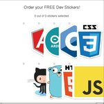 3 Free Developer Stickers from Onion.io