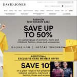 Save up to 50% on Range of Women's, Men's, Children Fashion, Shoes and Accessories | Online or Instore @ David Jones