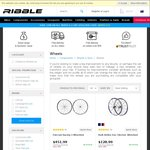 10% off Bike Wheels and Glasses @ Ribble E.g. Fulcrum Racing 3 $406.79 + $60 Shipping
