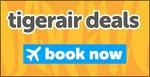 Tigerair Return for $1 Sale (Pay Full Fare 1 Way)