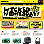 JB Hi-Fi - Wicked Wednesday: 10% off Apple Mac Computers; 15% off Fridges, Washers, Dryers +More, Sony HTCT80 2.1 Speakers $149