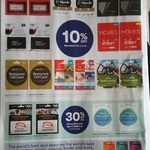 Gift Cards - 30% off Adrenaline, Spa & Wellness - 10% off BBQ Galore, Red Balloon, Kathmandu @ Big W 28/8