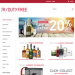 JR Duty Free 20% off Liquor and Other Products Is Back for PER/DAR/CAN/BRIS Eg JW Island Green 1L $64 Disaronno 1L $28