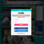 15% off ($29 Minimum Spend) @ Cudo / Living Social / Mydeal (Unlimited Redemptions)