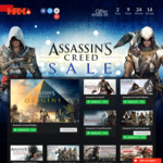 Assassin Creed Sale at Hrkgame Starting at $2.58