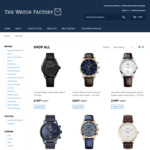 50% off Sitewide + Free Express Shipping @ The Watch Factory ($300 Minimum Spend)