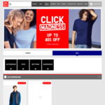 Up to 40% off + Free Shipping (No Min Spend) @ Uniqlo; Ultra Light Down Vest $59.9, Men's T-Shirt/Boxers, Women's Camisole $9.9